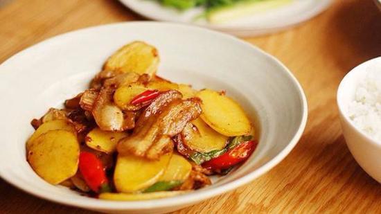 红烧土豆片的做法
