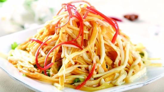 凉拌金针菇的做法 凉拌金针菇怎么做好吃