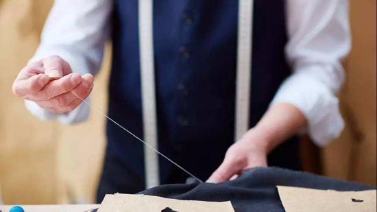 缝衣服怎么收针
