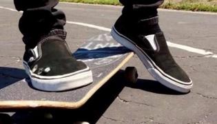 滑板教学Ⅳ:停止滑行