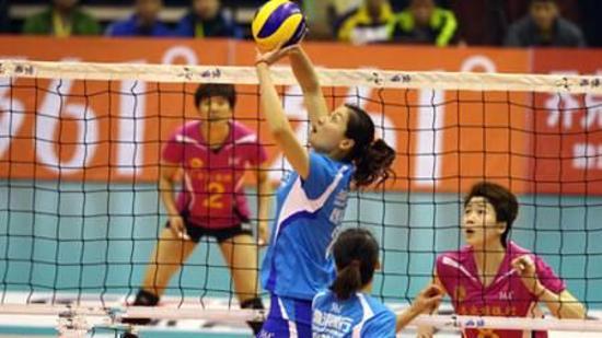 排球传球动作要领Ⅳ:传球姿势练习