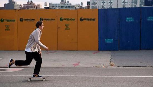 滑板教学Ⅹ:跑步上板