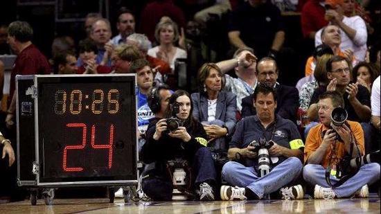 篮球规则Ⅵ:篮球时间违例