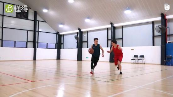 篮球训练Ⅰ:z字形1对1练习(多人练习)