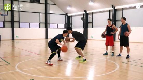 篮球训练Ⅱ:断球练习(多人练习)