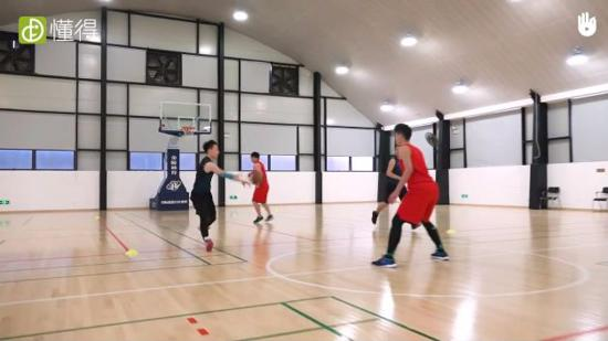 篮球训练Ⅹ:传球进攻练习(多人练习)