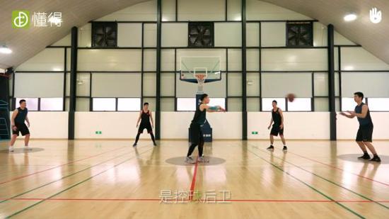 篮球规则Ⅲ:球员的位置和分工