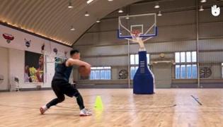 篮球运球Ⅴ:体前交叉运球