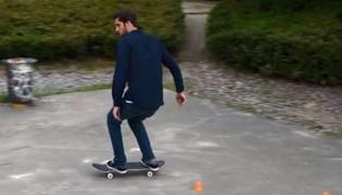 滑板练习Ⅷ:变向和转弯滑行