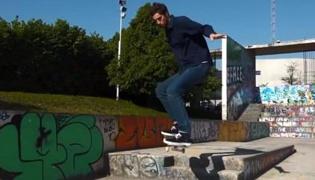 滑板练习Ⅹ:豚跳练习