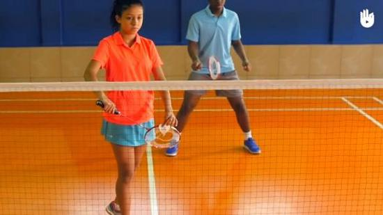 羽毛球发球规则Ⅰ:双打的发球规则