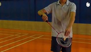 羽毛球发球规则Ⅲ:反手发低球