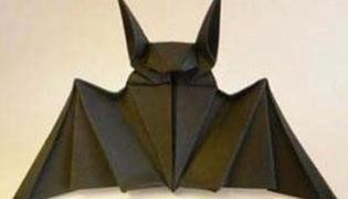 怎么折蝙蝠