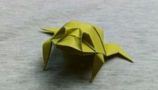 怎么折青蛙