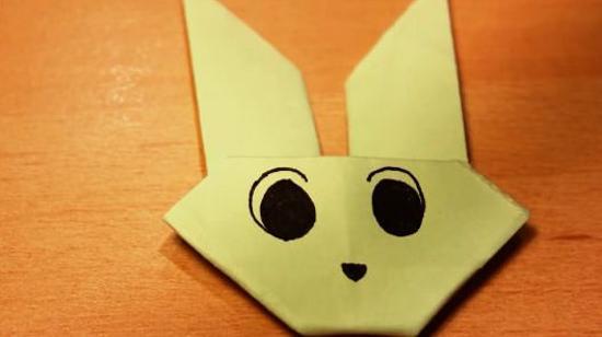 兔子头的折法