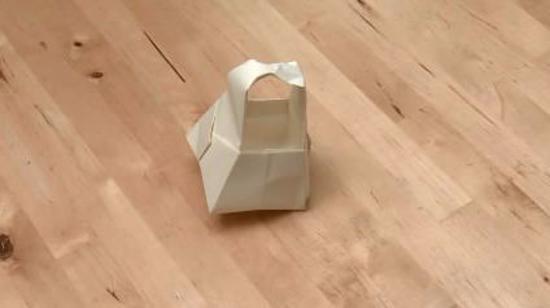 篮子的折法