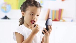 孩子臭美爱化妆怎么办