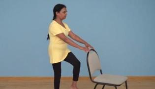 老年人平衡性练习Ⅱ:单脚站立(单人篇)
