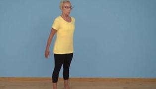 老年人平衡性练习Ⅴ:踮脚练习(单人篇)