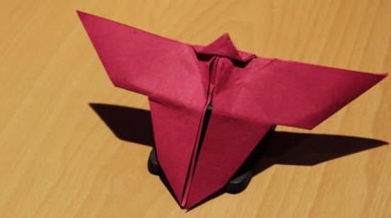 蝴蝶的折法教程