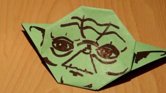 折纸尤达大师