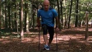 北欧式健走训练 IV:跳过障碍物