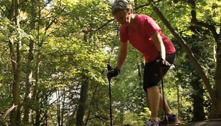 北欧式健走训练Ⅹ:下障碍物