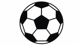 足球简笔画