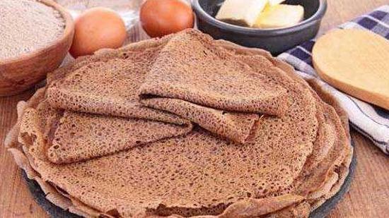 荞麦粉可丽饼的做法