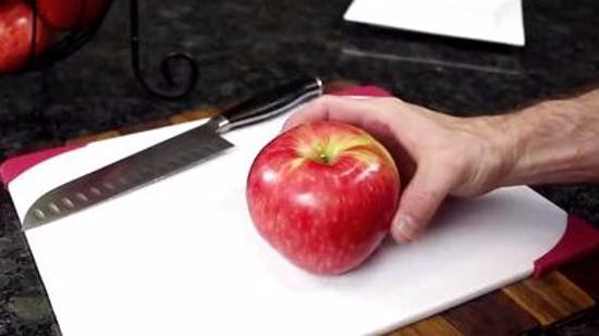 苹果的切法