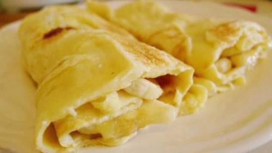 香蕉酸奶饼的做法