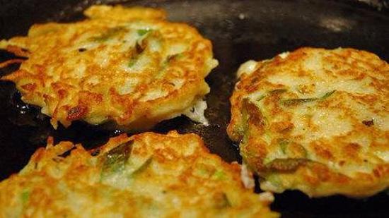 土豆洋葱煎饼的做法