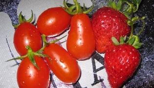 圣女果草莓糊的做法