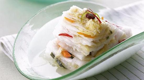 奶油白菜的做法