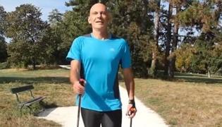 北欧式健走的技巧Ⅰ:北欧式健走的基本动作