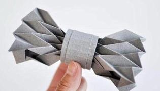 领结怎么折