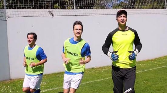 足球赛前热身Ⅱ:运动前有氧热身练习