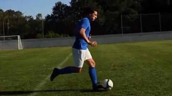足球控球技巧Ⅲ:盘带