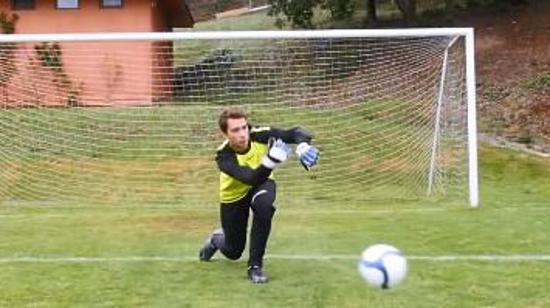 守门员技巧Ⅱ:守门员如何进行手抛球