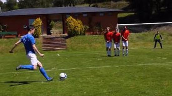 足球射门动作要领Ⅵ:罚直接任意球