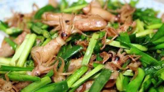 韭菜炒海兔的做法