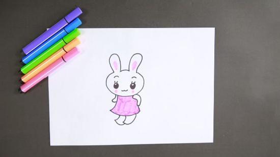 兔子简笔画