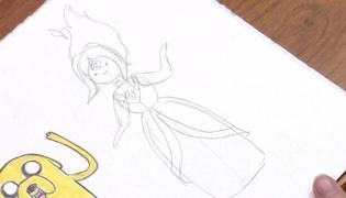 如何画火焰公主Ⅰ