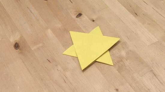 六角星折纸