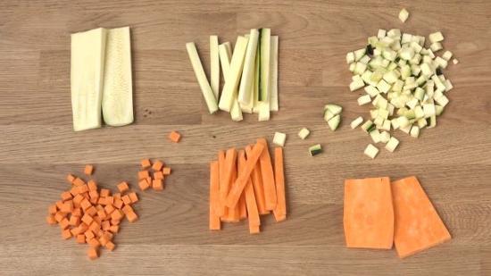 如何切胡萝卜
