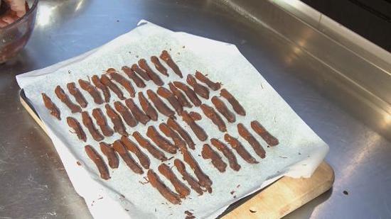 橙皮巧克力的做法