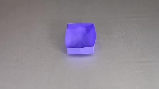 纸盒子的折法教程