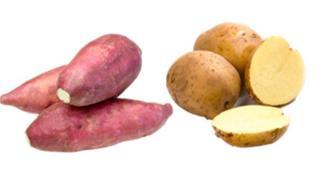红薯与土豆能一起吃吗