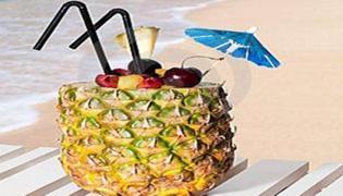 菠萝和酒可以一起吃吗