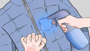 清洗羽絨服的方法